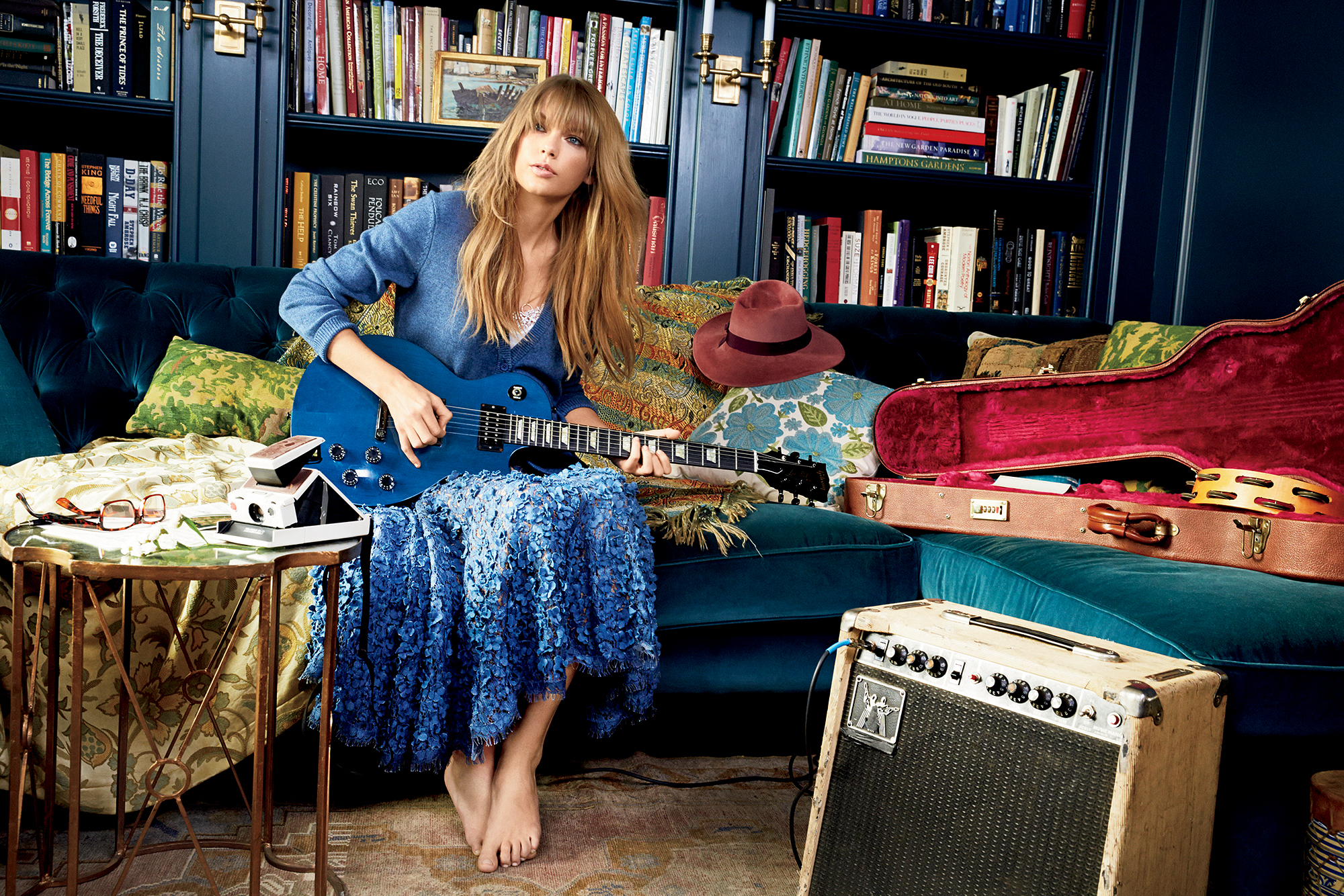 Taylor Swift Glamour Magazine Mart 2014